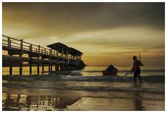 Turtle Point Pier_3 (bit ramone) Tags: island isla besar malasia pier embarcadero sea oceano asia travel viajes bitramone sunset atardecer