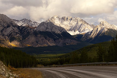 The road less travelled (chris.ph) Tags: light larch mountains alberta road travel canon6d ef24105mmf4lisusm