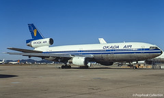 5N-OGI / MZJ 01.1992 (propfreak) Tags: propfreak propfreakcollection slidescan mzj marana kmzj 5nogi dc1010 okadaair westernairlines n902wa worldairways dc10 9qcss shabair