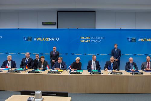 Signature ceremony: Memorandum of Understanding on Multirole Tanker Transport Capability