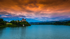 Czorsztyn Lake (Andrzej Kocot) Tags: andrzejkocot art adventure architecture landscape landscapes creative clouds colors countryside castle sky surreallandscape surreal sunlight skyline fineart olympus omd outdoor poland polska photography