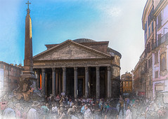 The Pantheon (PhilHydePhotos) Tags: italy pantheon roma rome