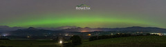 The Green Belt (http://www.richardfoxphotography.com) Tags: auroraborealis aurora scotland scottishhighlands thetrossachs astrophotography northernlights panorama