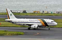 Força Aérea Brasileira, FAB2101/VC-1 2101, Airbus A319-133X CJ at HND (tokyo70) Tags: japan travel tour tokyo forçaaéreabrasileira a319