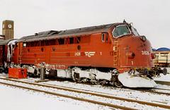 NSB Di 3 626 (Stig Baumeyer) Tags: diesellocomotive diesel diesellokomotive diesellok diesellokomotiv di3 nsb norgesstatsbaner nsbdi3 nohab nohabgm nydqvistholm gm generalmotors gm16567 trollhättan passengertrain personenzug persontog bodø