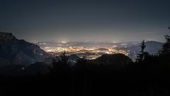 Salzburg at Night (Christoph Wenzel) Tags: gebirge deutschland tamron2875mmf28diiiirxd bayern sonyalpha7riii rossfeldpanoramastrase urlaub alpen sterne berge herbst nacht dunkelheit natur astro eck salzburg österreich