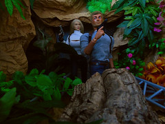 Heading further into Dinosaur Valley (Blondeactionman) Tags: bamhq bamcomix one six scale doll phicen actionman action figure dinosaur valley diorama photography agent of bam jenna commander jake playscale
