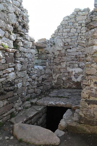 Hen Capel Lligwy - burial pit