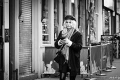 Lothian Road, Edinburgh (Cycling-Road-Hog) Tags: candid canoneos750d citylife edinburgh edinburghstreetphotography fashion hat lothianroad phone places scarf scotland street streetphotography streetportrait style urban