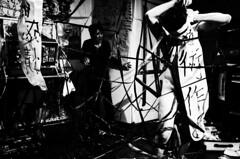 4yon (maxwellkimi) Tags: japan performance art blackandwhite monochrome friends live music dance