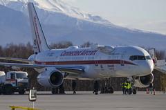 N757HW - Honeywell International - Boeing 757-200 (Zhuravlev Nikita) Tags: uhpp pkc spotting elizovo kamchatka boeing 757 b757 honeywell flight test