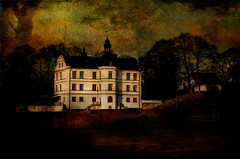Mansion serie (Birgitta Sjostedt- thanks for 12 m views.) Tags: architecture building mansion house old anicent texture paint painting