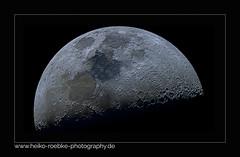Der Mond / the moon (Heiko Röbke) Tags: mond spiegelteleskop teleskop celestronavx canon7d celestronedgehd8 pixinsight 2019 lightroom astro