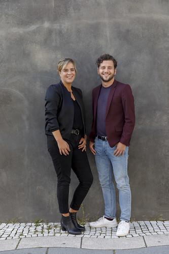 Mona Neubaur & Felix Banaszak, Landesvorsitzende BÜNDNIS 90/DIE GRÜNEN NRW