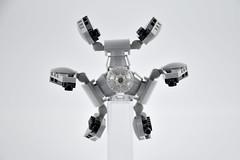TIE Defender Mini Scale 004 (fnxrak) Tags: starwars tiedefender tie miniscale moc star wars lego fnxrak