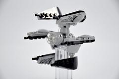 TIE Defender Mini Scale 001 (fnxrak) Tags: starwars tiedefender tie miniscale moc star wars lego fnxrak