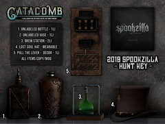 Catacomb-Spookzilla_Hunt_Key (Inner Demons) Tags: catacomb original mesh sl secondlife hilted innerdemons {id} accessories accessory decor prop rp roleplay decorative exclusive event spookzilla hunt 3d steampunk
