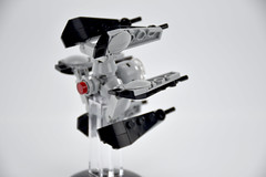 TIE Defender Mini Scale 003 (fnxrak) Tags: starwars tiedefender tie miniscale moc star wars lego fnxrak