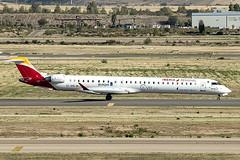 EC-MSL | Air Nostrum | Bombardier CRJ-1000 (CL-600-2E25) | CN 19058 | Built 2017 | MAD/LEMD 25/09/2019 | Burgos Decals | Operated on behalf of Iberia Regional (Mick Planespotter) Tags: aircraft airport 2019 adolfosuárez barajas madrid madridbarajas nik sharpenerpro3 crj1000 spotter aviation avgeek plane planespotter airplane aeroplane jet ecmsl air nostrum bombardier cl6002e25 19058 2017 mad lemd 25092019 burgos decals iberia regional
