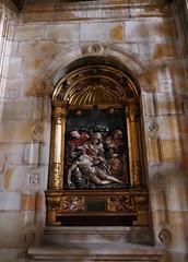 Pieta, retable baroque, monastère Santa María de Zenarruza (XIVe_XVe), Ziortza-Bolibar, comarque de Lea-Artibai, Biscaye, Pays basque, Espagne. (byb64) Tags: zenarruza santamaríadezenarruza ziortzabolibar bolibar leaartibai cenarruzapuebladebolíbar biscaye viscaya bizkaia biscay biscaglia paysbasque euskadi euskalherria paisvasco espagne espana spain spagna spanien europe europa eu ue биска́йя испании страна́ба́сков moyenage medioevo middleages mittelalter edadmedia xive 14th xve 15th monastère monasterio mosteiro monastery kirche kloster église church chiesa iglesia igreja ziortzakomonasterioa cheminsdestjacques caminodesantiago caminodelnorte unesco unescoworldheritagesite baroque baroco barocco barroco barock artbaroque retable retablo
