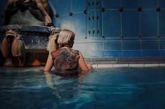 . (tikktakk) Tags: gellert baths budapest hungary ricohgrii