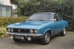 Opel Manta A 1900 14-9-1971 27-27-SN (Fuego 81) Tags: opel manta a 1971 2727sn onk sidecode2 cwodlp