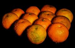 Tangerines (Jose Rahona) Tags: lookingcloseonfriday stilllifewithfruit closeup fruta fruit orange naranja mandarinas tanterines
