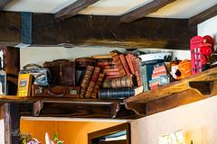 DSC00611 (Alireza Khosroshahi) Tags: australia melbourne jungle light loneliness house book shelf miss marple