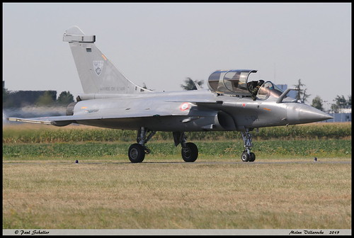 RAFALE C 129 4-GH ETR3/4 Aquitaine Melun Villaroche septembre 2019