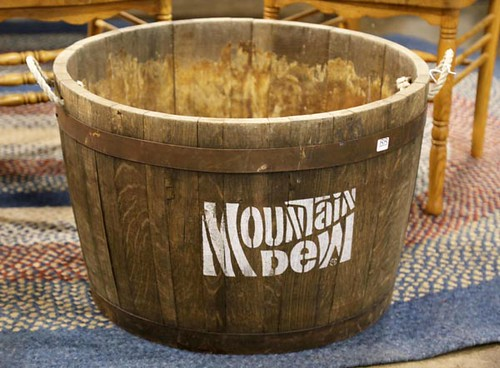 Wooden Mountain Dew Barrel ($84.00)