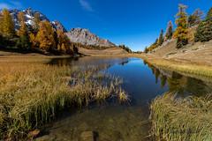 Lac Miroir - Ceillac (jean-louis21) Tags: queyras lac lake miroir miror automne automn alpes mélèzes