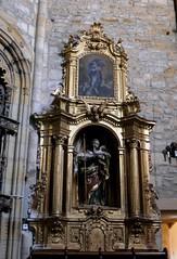 Retable baroque, monastère Santa María de Zenarruza (XIVe_XVe), Ziortza-Bolibar, comarque de Lea-Artibai, Biscaye, Pays basque, Espagne. (byb64) Tags: zenarruza bizkaia viscaya bolibar biscaye leaartibai ziortzabolibar cenarruzapuebladebolíbar santamaríadezenarruza espana espagne euskalherria euskadi paisvasco paysbasque biscay biscaglia spain europa europe eu spanien spagna ue испании биска́йя 14th middleages 15th medioevo moyenage mittelalter edadmedia xive xve страна́ба́сков church iglesia kirche chiesa monastery église monasterio kloster monastère mosteiro unescoworldheritagesite unesco igreja baroque barocco caminodesantiago baroco caminodelnorte cheminsdestjacques ziortzakomonasterioa barock barroco retablo retable artbaroque