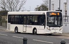 Borders Buses 11612 SN16 OXU (25/10/2019) (CYule Buses) Tags: service60 bordersbuses wcm westcoastmotors enviro200 alexanderdennis alexanderdennisenviro200 sn16oxu 11612