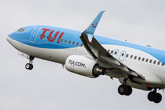 G-FDZD (hartlandmartin) Tags: gfdzd tui boeing 737800 birmingham bhx egbb elmdon aircraft airport airline aeroplane aviation airplane plane nikon d7200 sigma 120400os