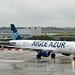 Aigle Azur F-HBIO Airbus A320-214 cn/3242 wfu and std at WOE 01-05 - 04-09-2019 reg XY-ALJ Myanmar Airways 4 Sep 2019 @ LFPO / ORY 03-04-2015