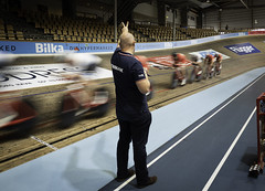 In the Arena (2) (bohelsted) Tags: track cycling bicycle race sports training european masters superarena ballerup denmark em5markii summilux leicadg15mm leicadg velodrome