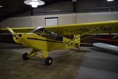G-BJWX Piper PA18 Super Cub (graham19492000) Tags: goodwoodairfield gbjwx piper pa18 supercub