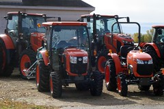 Not all tractors are green (novice09) Tags: kubota tractor ipiccy