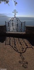 Door (borisnaumoski) Tags: ohrid macedonia church door sunny shadow autumn october lake culture