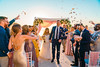 An exquisite Santorini wedding story, Elena & Adam