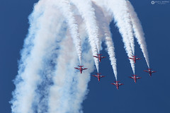 1097_2019.06.14 (JCM Photo) Tags: ads aerobaticpatrol patrullaacrobática redarrows volkel airshow ehvk royalairforce aircraft avión hawker hawk