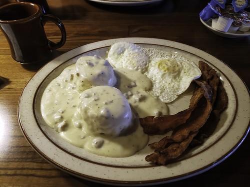 Alaskan Breakfast . . .