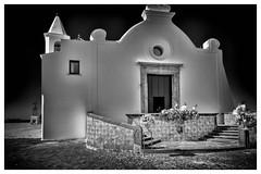 Ischia - Forio - Chiesa del Soccorso (EnzoCastaldi) Tags: furio chiesa del soccorso black white bianco nero church fujifilm 1655 fujinon xt2