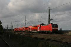 146 102-9a RE9 (Harrys Train photos) Tags: regionalexpres eisenbahnbilder trein train re9 zug railway railroad br146 baureihe adtranz dosto dubbeldekker doubledecker eisenbahn
