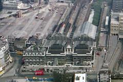 Broad Street Station, May 1985. (piktaker) Tags: london londonec2 ec2 station rail railwaystation broadstreetstation railway terminus northlondonrailway lnwrcitygoodsstation broadgate