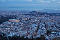 Athens – The city and beyond (Thomas Mulchi) Tags: mountlycabettus athens attica greece 2017 atticaregion city cityscape sea