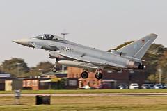 30+50 EF-2000 Typhoon German Air Force WTN Cobra Warrior 2019 17-09-19 (PlanecrazyUK) Tags: rafwaddington egxw wtn lincoln lincs 3050 ef2000typhoon germanairforce cobrawarrior2019 170919