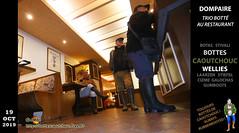 Trio botté au restaurant (pascal en bottes) Tags: dompaire restaurant meal vosges kurt pascal pascalbourcier pascallebotteux roger rogermeuret boots botas bottes bottescaoutchouc bottésdecaoutchouc bottesencaoutchouc bottesgumleaf botteslechameau bottescaoutchoucfreefr botteux garsenbottes httpbottescaoutchoucfreefr lechameauboots potesenbottes rubberboots wellingtonboots stiefel stivali stivalidigomma stövler street wellies galochas gumboots gumleaf gummi gummistiefel botasdehule laarzen rainboots botte cizme ciszme cižmy gomma gummistövlar gumicizme gumicsizma gummicizme hule httpbottescaoutchoucfreefrgalpascaljourjourpb002013html kumisaappaat kumisaapat rubber rubberen rue rubberlaarzen stovlar stövlar wellington