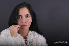 NAT_1087 (jeanfrancoislaforge) Tags: nataliia rusakova fur fourrure femme woman portrait studio nikon d850 iso64 beauté beauty face visage headshot eyes yeux regard look