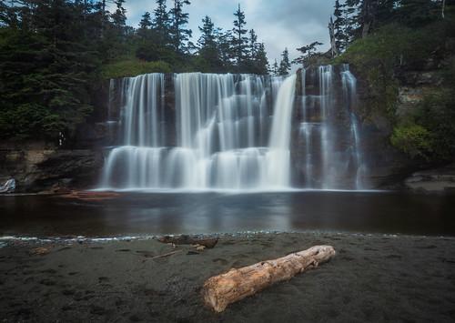 Campsite Waterfall